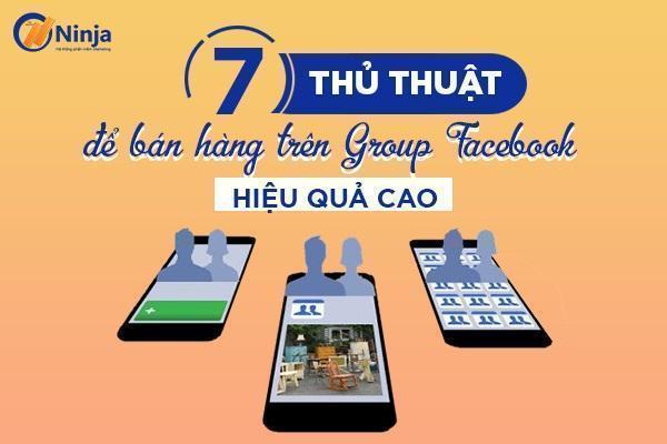 cách bán hàng group facebook