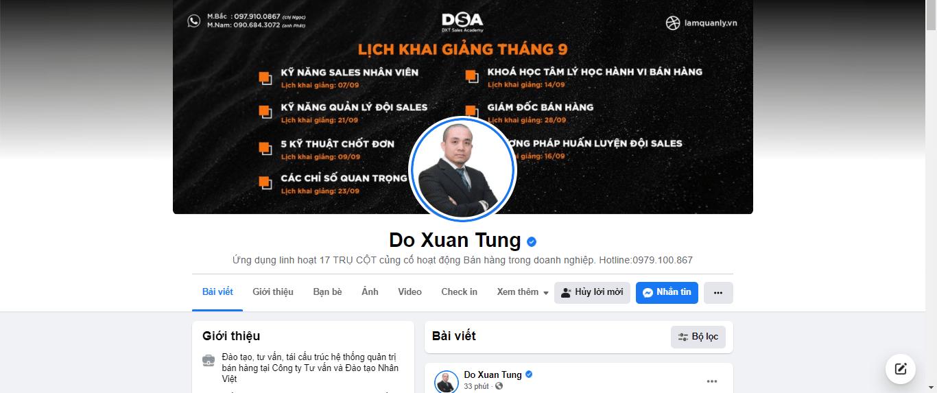 Xây dựng profile quảng cáo